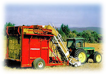 Freeman 7000 Bale wagon
