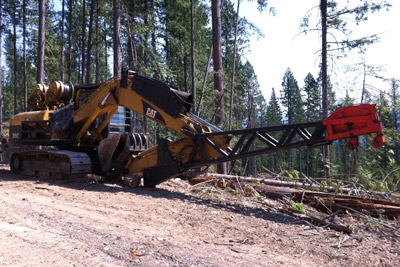 Forestry (Excavator) - Allied Winch - Allied Systems Company