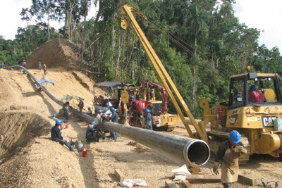 Pipeline Construction - Allied Winch - Allied Systems Company